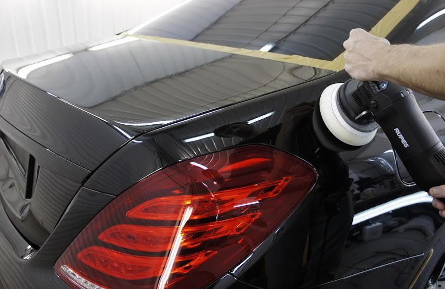 Фото полировки авто