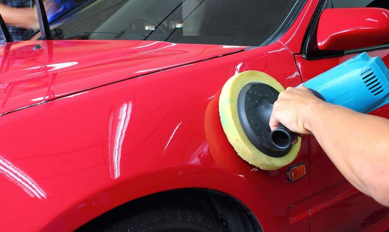 фото ремонт сколов на кузове