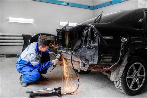 фото кузовной ремонт авто рихтовка