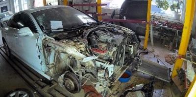 фото Качественное восстановление геометрии кузова в Саратове